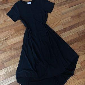 Lularoe Black Modal Carly XXS
